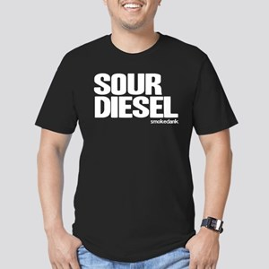Sour D Men's Fitted T-Shirt (dark)