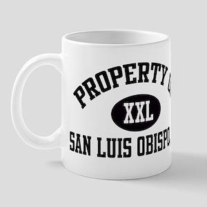 Property of SAN LUIS OBISPO Mug