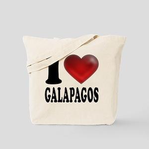 I Heart Galapagos Tote Bag