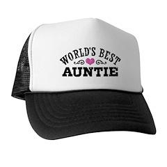 World's Best Auntie Trucker Hat