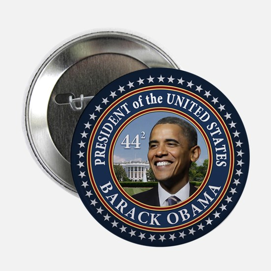 "Obama 44 Presidential Seal 2.25"" Button (10 pack)"