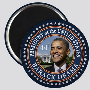 "Obama 44 Presidential Seal 2.25"" Magnet"