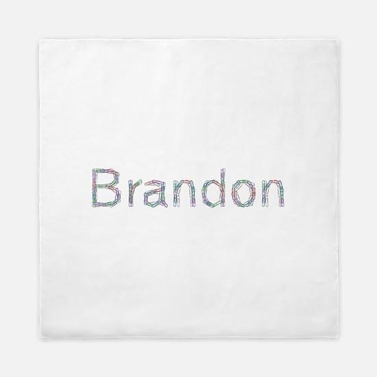 Brandon Paper Clips Queen Duvet