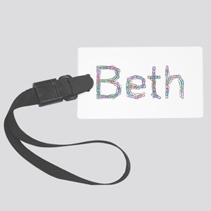 Beth Paper Clips Large Luggage Tag