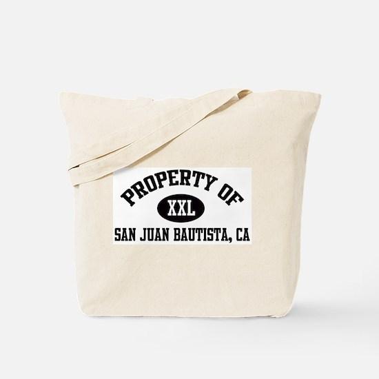 Property of SAN JUAN BAUTISTA Tote Bag
