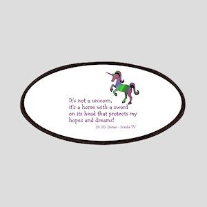 Scrubs Unicorn Quotes Patches