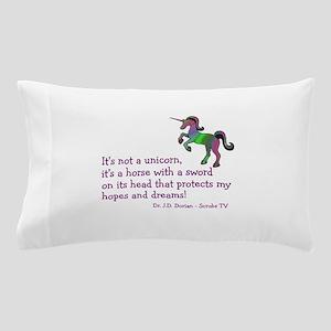Scrubs Unicorn Quotes Pillow Case