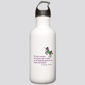 Scrubs Unicorn Quotes Stainless Water Bottle 1.0L