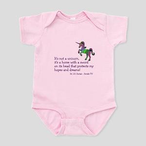 Scrubs Unicorn Quotes Infant Bodysuit