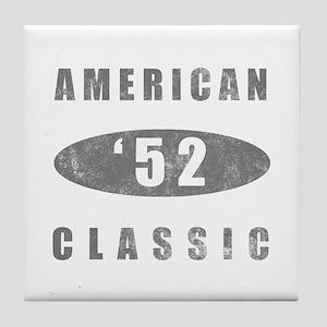 1952 Birthday Classic Tile Coaster