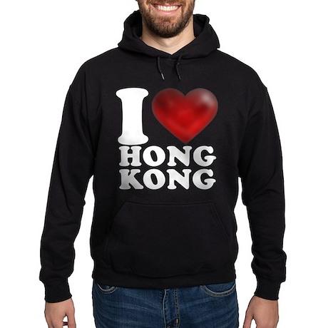 I Heart Hong Kong Hoodie (dark)