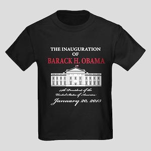 2013 Obama inauguration day Kids Dark T-Shirt