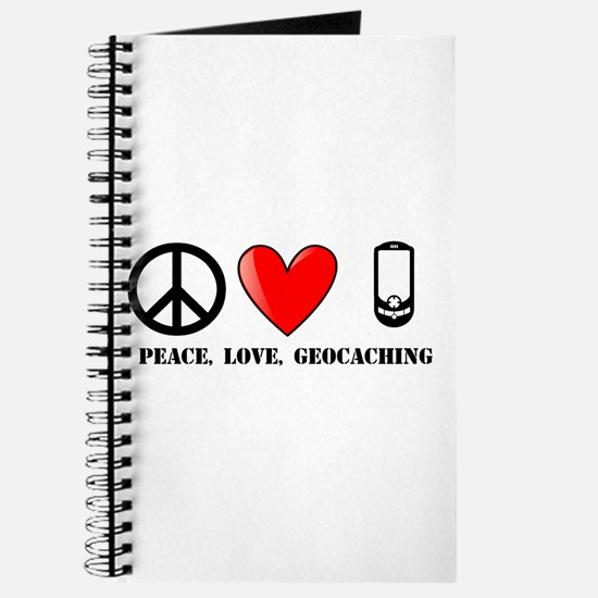 Peace, Love, Geocaching Journal