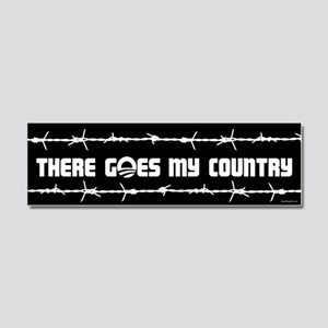 There goes my country Car Magnet 10 x 3
