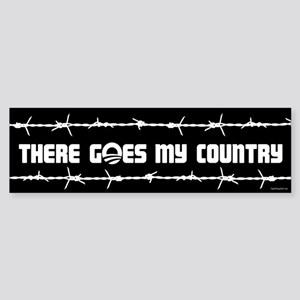 There goes my country Sticker (Bumper)
