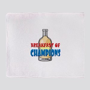 Breakfast Throw Blanket