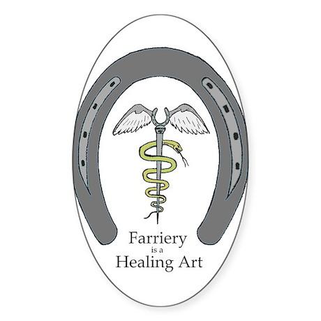 Farriery Healing Art Sticker