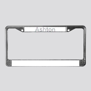 Ashton Paper Clips License Plate Frame