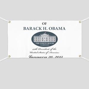 2013 Obama inauguration day Banner