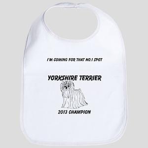 Yorkshire Terrier No.1 Spot Bib