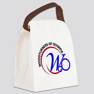 RedBlu2 Canvas Lunch Bag
