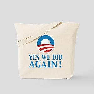2013 Obama inauguration day Tote Bag