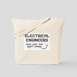 Electrical Engineers Sparks Tote Bag
