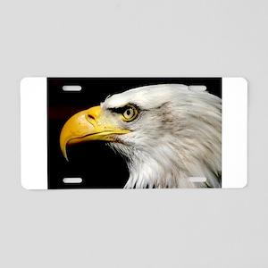 American Bald Eagle Aluminum License Plate