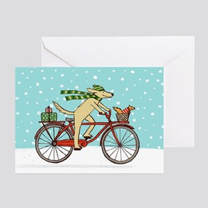 Winter greeting cards cafepress dog and squirrel holiday greeting cards pk of 20 m4hsunfo