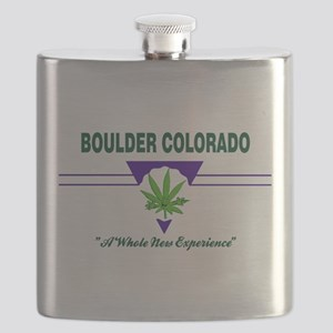 Boulder Colorado Marijuana Flask