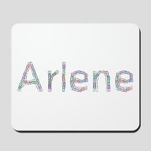 Arlene Paper Clips Mousepad