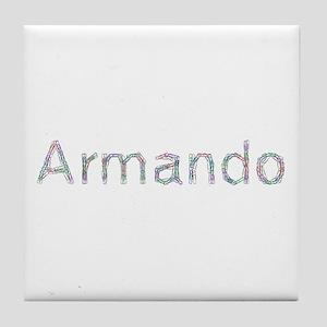 Armando Paper Clips Tile Coaster