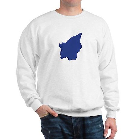 San Marino map Sweatshirt