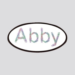 Abby Paper Clips Patch