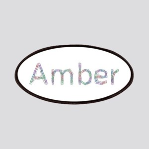 Amber Paper Clips Patch