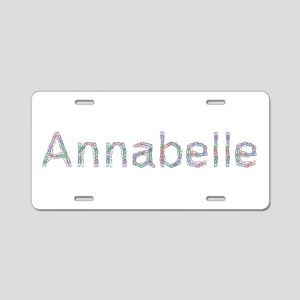 Annabelle Paper Clips Aluminum License Plate
