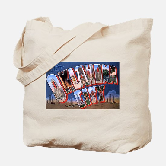 Oklahoma City Oklahoma Tote Bag