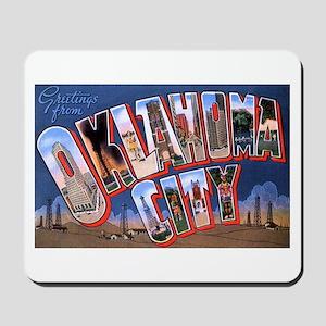 Oklahoma City Oklahoma Mousepad
