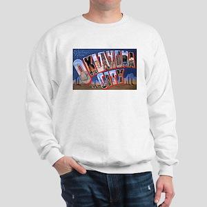 Oklahoma City Oklahoma (Front) Sweatshirt