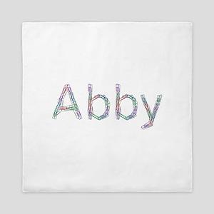 Abby Paper Clips Queen Duvet