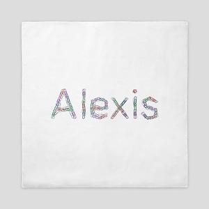 Alexis Paper Clips Queen Duvet