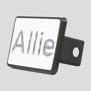 Allie Paper Clips Rectangular Hitch Cover