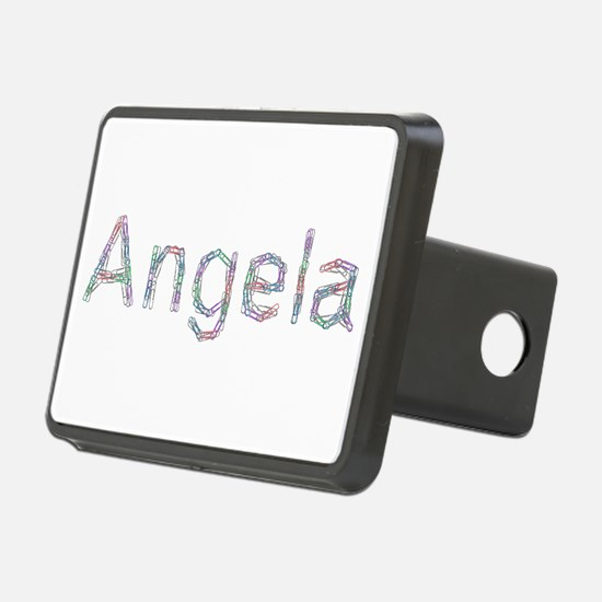 Angela Paper Clips Hitch Cover