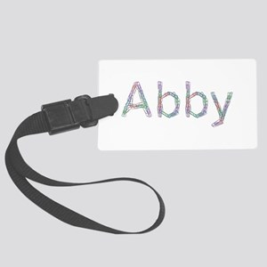 Abby Paper Clips Large Luggage Tag