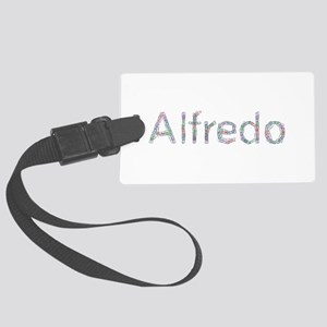 Alfredo Paper Clips Large Luggage Tag
