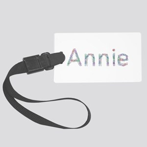Annie Paper Clips Large Luggage Tag