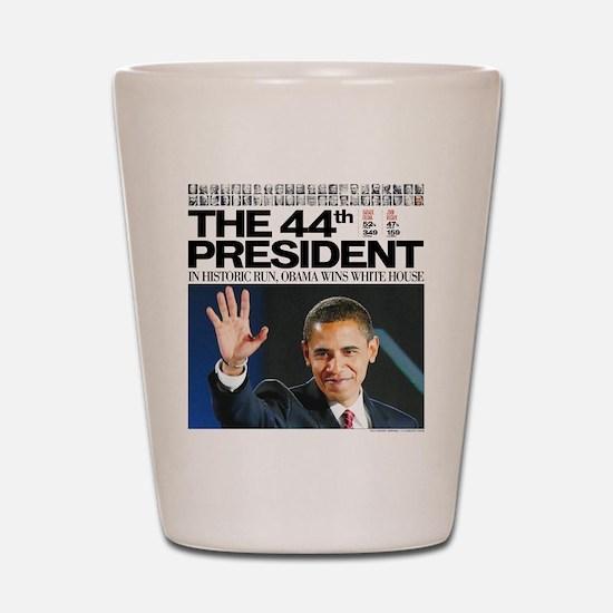 44th President.png Shot Glass