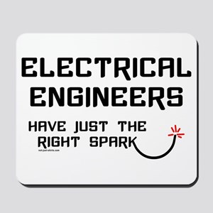 Electrical Engineers Sparks Mousepad
