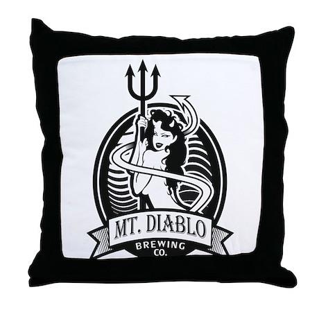 Diablo Beer Throw Pillow