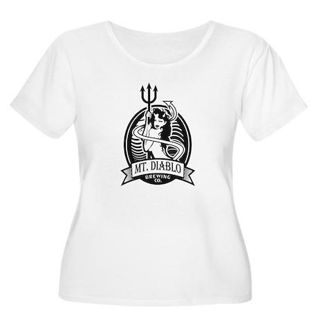 Diablo Beer Women's Plus Size Scoop Neck T-Shirt